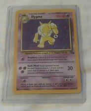 POKEMON 1999 HYPNO FOSSIL SET 8/62 NICE HOLO