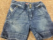 DIESEL Baby Girl Denim Shorts  Size 3 Month