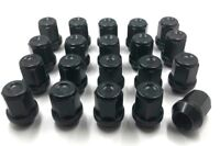 20 x ALLOY WHEEL NUTS BLACK M12 x 1.5 19MM HEX FOR FORD TRANSIT CONNECT BOLT [3]