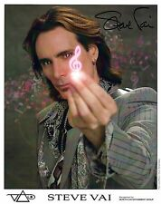 Steve Vai signed 8x10 promo photo / autograph