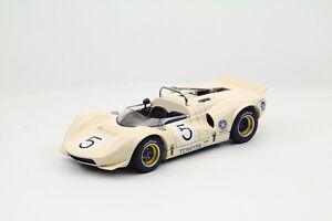 EBBRO 44704 1:43 TOYOTA 7 1968 Japan GP No.5 Otsubo Ivory