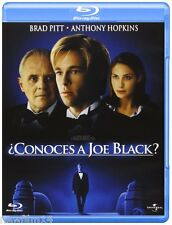 ¿CONOCES A JOE BLACK? BLU RAY NUEVO ( SIN ABRIR ) BRAD PITT ANTHONY HOPKINS