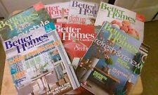 Better Homes & Gardens Dec 2014-Aug, 2015 Magazines Back Issues USED & NEW