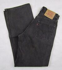 Levi's 515 Boot Cut Black Women's Jeans W27 X L30 100% Cotton