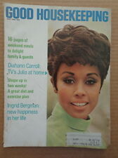 GOOD HOUSEKEEPING magazine May 1969 DIAHANN CARROLL-Cokie Roberts-INGRID BERGMAN