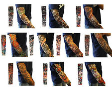 10pcs Stretchy temporary Tattoo Sleeves Kit Fashion Arm Stockings