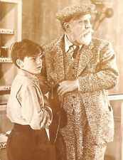 """MONTY WOOLLEY & RODDY McDOWALL in """"The Pied Piper"""" Original WITH CAPTION 1942"""