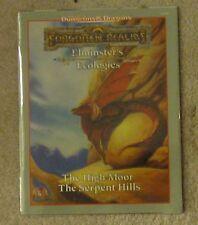 dungeons & dragons  forgotten realms  ecologies high moor serpent hills  book
