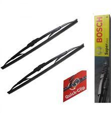 "21"" 21"" Bosch Front Windscreen Wiper Blades Pair SUPER +"