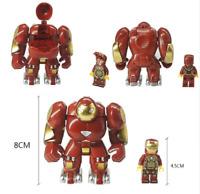 Super Heroes Marvel Avengers Iron Man Hulkbusters Model Figure Blocks Compatible