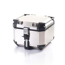 GENUINE TRIUMPH MOTORCYCLE EXPLORER EXPEDITION TOP BOX SILVER A9500530