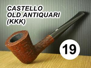 ESTATE PIPE- Pfeife -  N 19 CASTELLO OLD ANTIQUARI (KKK)  (CARLO SCOTTI)