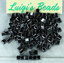10g Metallic Hematite #81-TOHO Japanese Cube Glass Seed Beads 3mm