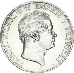 Brandenburg-Preußen Friedrich Wilhelm IV. Doppeltaler 1845 A (Berlin) ss/vz