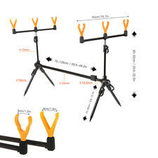 Adjustable Retractable Carp Fishing Rod Pod Stand Holder Bracket 6Rod rests UK