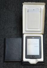 Amazon Kindle d01100 eBook Reader - 4. generación - 2gb - 6 pulgadas en OVP con Case