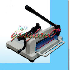 A4 Size Stack Paper Cutter Heavy Duty 858 All Metal Ream Guillotine No Assembly