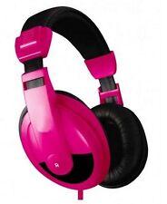 Vibe VS-750-DJ Headband Headphones - Pink