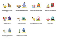 Official McDonald's Happy Meal Toy Character SpongeBob SquarePants 2021