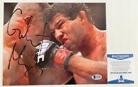 UFC Strikeforce MMA Gilbert Melendez Autographed 8x10 Photo Signed Beckett COA