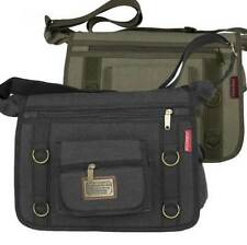 Canvas Bags & Briefcases for Men with Adjustable Strap