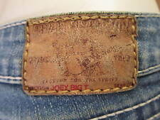 AUTH​ TRUE RELIGION JOEY BIG T SLIM BOOT CUT WOMEN JEANS SZ 25 X 31.5 VIC-THOR1