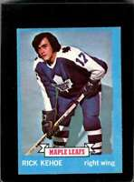 1973-74 TOPPS #179 RICK KEHOE VG RC ROOKIE MAPLE LEAFS  *X2207