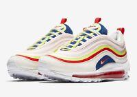 Dettagli su Nike Air Max 97 Special Edition sneakers donna Argento Oro Bianco, taglia 38.5