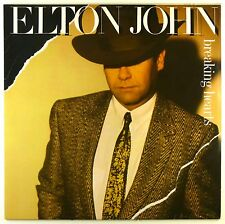 "12"" LP - Elton John - Breaking Hearts - #L7619 - washed & cleaned"