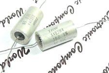 1pcs - TRW 10uF (10µF) 50V 5% X483W4 MIL Axial Tantalum Capacitor