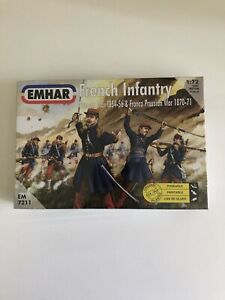 EMHAR 1/72 Mod.7211 French Infantry Crimean & Franco Prussian War 1854 -1871 NEW