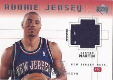 Kenyon Martin NETS 2000-01 Pros & Prospects ROOKIE JERSEY /999