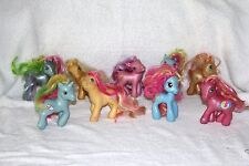 "Lot of 9 My Little Pony Ponies 3"" x 5"""
