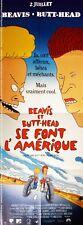 Cartel Plegable 60x160cm Beavis And Butt-Head Do America/Se Font AMÉRICA