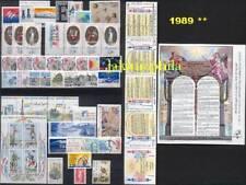France Année 1989 complète NEUFS ** LUXE avec BF 10+ 11
