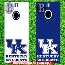 Kentucky Wildcats Cornhole Set of 6 Vinyl Decal Stickers University Bean Bag