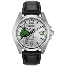 Citizen Men's Eco-Drive MARVEL HULK Limited Edition 45mm Watch AW1431-24W