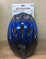 Schwinn Adult Bike Helmet Intercept 14 up Blue Adjustable Fit 360 Full Coverage