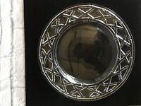 Tiffany Crystal Sandwich Plate
