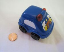 LITTLE TIKES Chunky POLICEMAN in TOY POLICE CAR REPLICA Burger King 2005