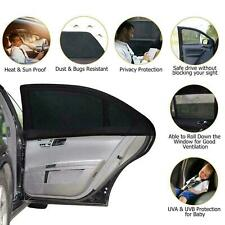 4Pcs Auto Car Sun Shade Screen Cover Sunshade Protector Front Rear Window Set