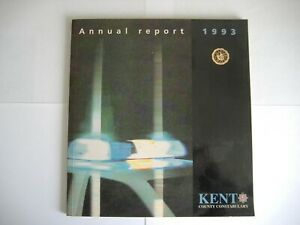 KENT COUNTY CONSTABULARY ANNUAL REPORT 1993