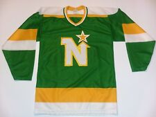 VINTAGE HOCKEY JERSEY CCM RARE MINNESOTA NORTH STARS quickstop patch