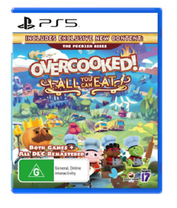 Overcooked All You Can Eat PlayStation 5 PS5 Brand New Sealed Free Postage