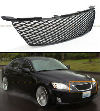 FOR 2006-2008 LEXUS IS250 IS350 F SPORT STYLE FRONT BUMPER HONEYCOMB MESH GRILLE