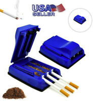 Manual Triple Cigarette Tube Injector Roller Maker Tobacco Rolling Machine USA