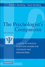 The Psychologist's Companion: A Guide to Writing Scientific Papers for Students