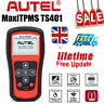 Autel TS401 MX-sensor 433/315 OBD2 Scanner Automotive Device Programming Sealey