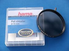 HAMA PROFESSIONAL 72mm CIR POLARIZING FILTER