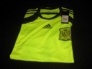 SPAIN PLAYER ISSUE ADIZERO GOALKEEPER SHIRT TAGS/PACKET